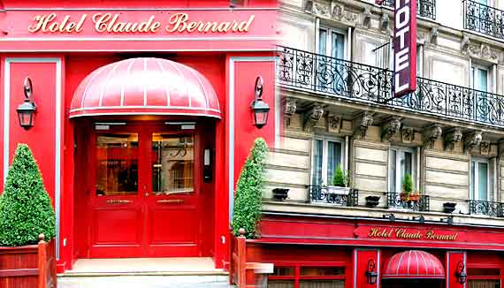 Hotel Claude Bernard Saint Germain Paris