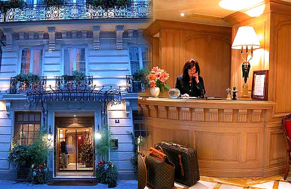 Hotel Chambiges Elysees Paris
