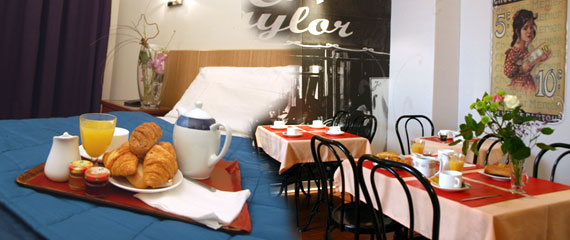 Make your online reservation to Hotel Louxor Paris, two star hotel, X° arrondissement, close to Republique and Grands Boulevards