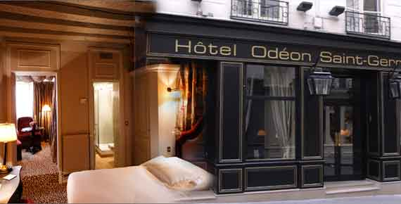 Online reservation for hotel Odeon Saint Germain Paris
