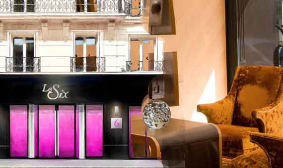 Online reservation for LE SIX, hotel in Paris
