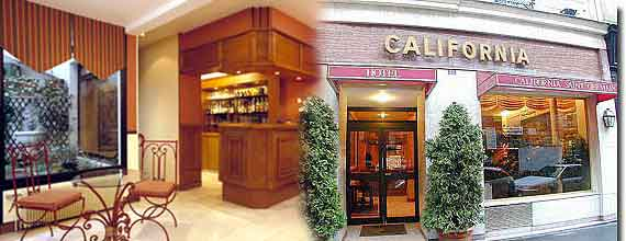 Online reservation for hotel California paris saint germain
