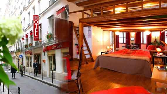 Online reservation for Hotel du Lion d'Or Paris