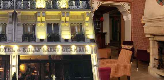 Online reservation for hotel Sully Saint Germain Paris